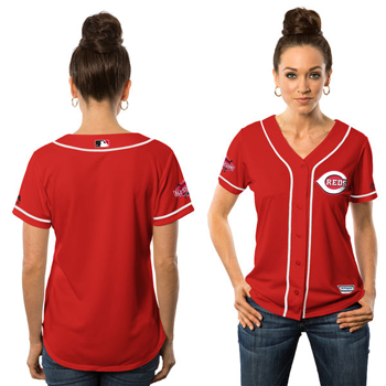 Majestic Cincinnati Reds Womens Cool Base® Jersey