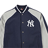Majestic New York Yankees Melton Letterman Jacket