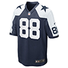 Nike Dallas Cowboys Dez Bryant  Throwback Game Jersey - Navy Blue