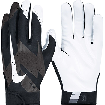 Nike Torque Football Gloves Black/White