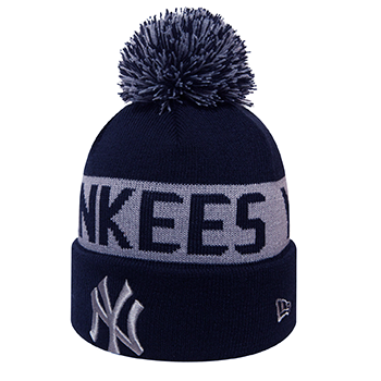 New Era/MLB New York Yankees Team Tonal Knit Navy