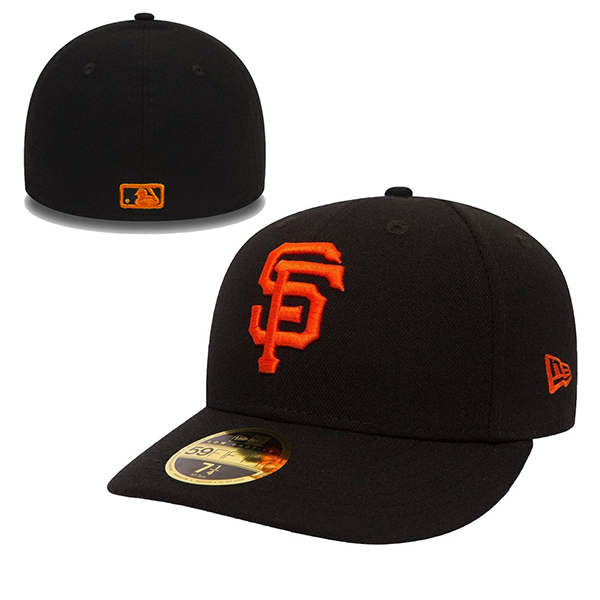 New Era San Francisco Giants Poly Low Profile 59FIFTY Fitted