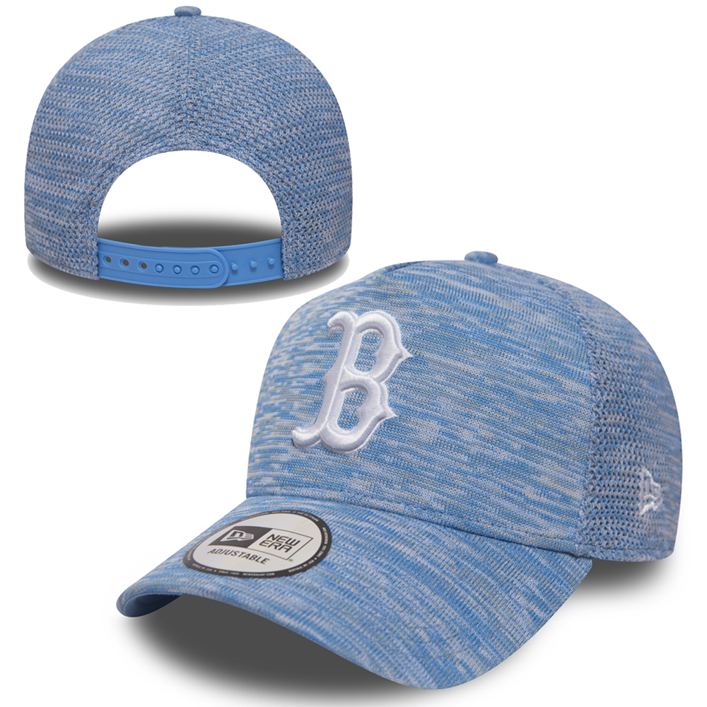 New Era Boston Red Sox Engineered Fit 9FORTY A Frame Bleu-ciel