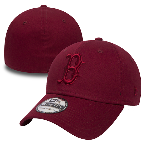 New Era Boston Red Sox Essential Cardinal Red 39THIRTY