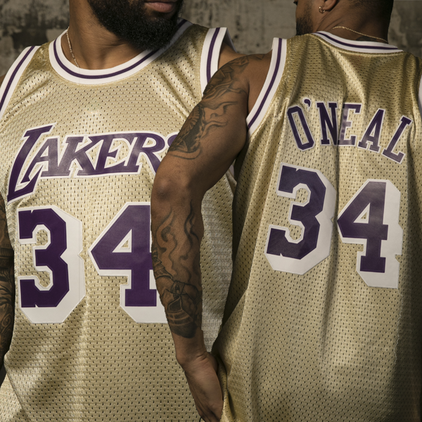 Mitchell & Ness Swingman jersey - Los Angeles Lakers - Shaquille O'Neal #34 Gold
