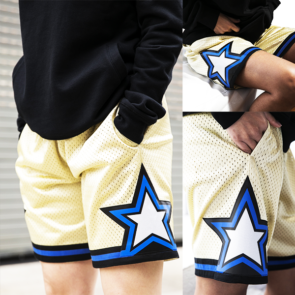 Mitchell & Ness Swingman Shorts - Orlando Magic Gold