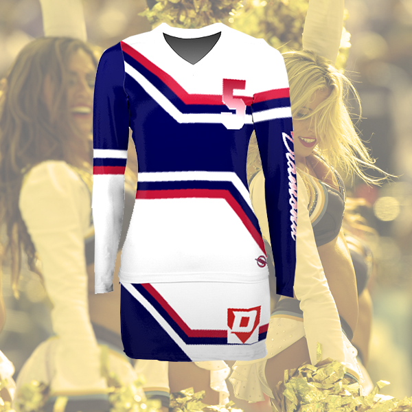 Teamwork Athletic Varsity Prosphere Cheer tenue personalisable