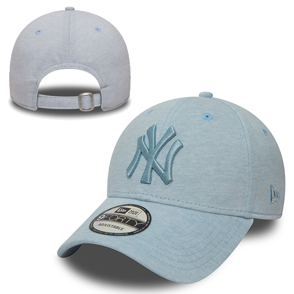 New Era MLB New York Yankees Jersey Brights Bleu ciel 9Forty