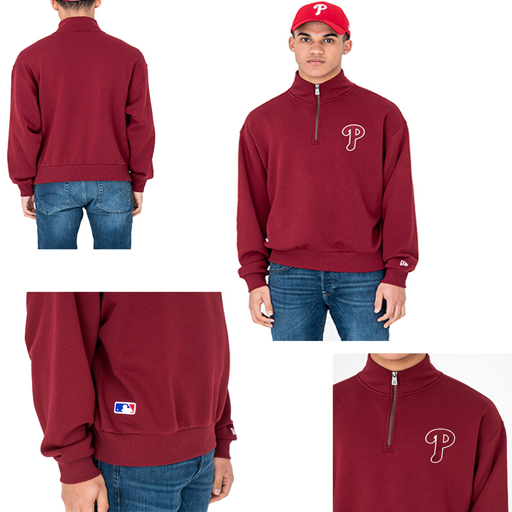 New Era MLB Philadelphia Phillies University Club Turtle Neck