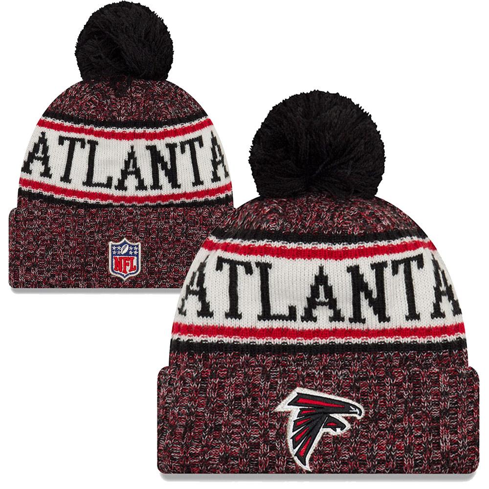 cdaa95ccd Cet Hiver, égayez vos tenues grâce à ce bonnet New Era à revers et pompon  des Atlanta falcons. Que vous soyez dans les gradins ou en rue, vous  pourrez ...