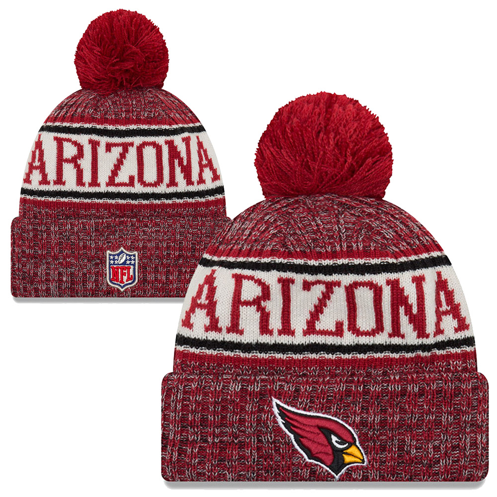 f2793f4e0fc New Era - NFL Arizona cardinals Sideline Bobble Cuff Knit 2018