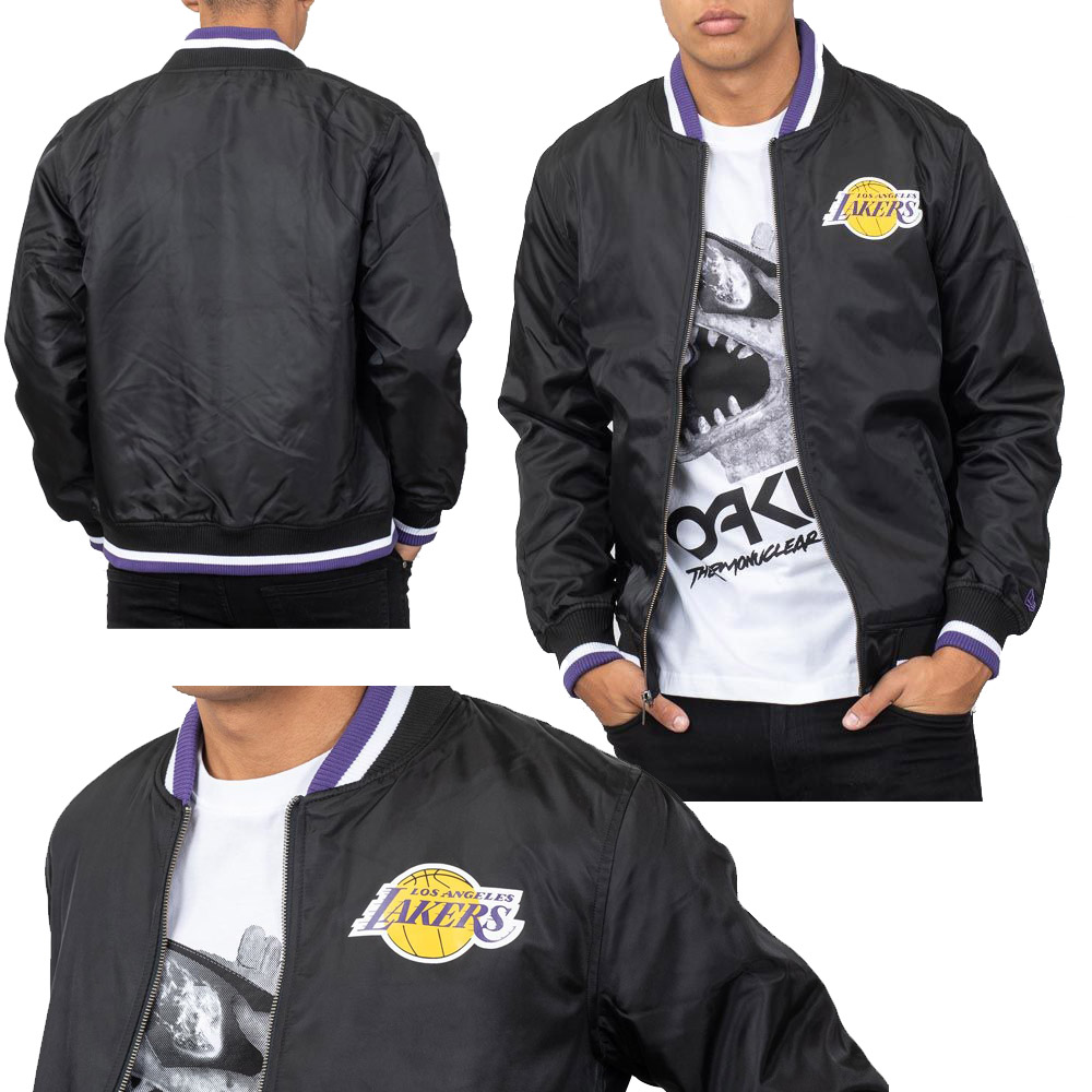 New Era NBA Los Angeles Lakers Team Apparel Varsity Jacket