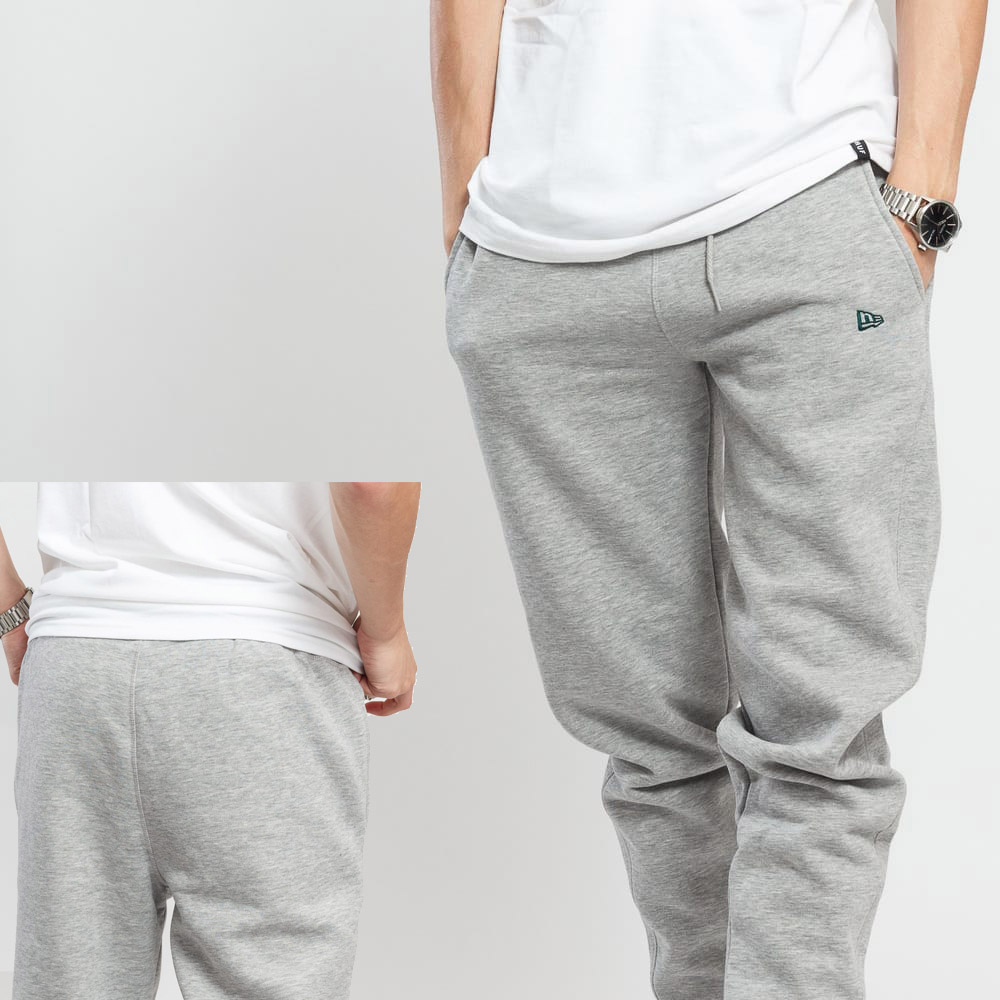 New Era New Era Branded Jogger Grey - Jogging Gris de New Era.