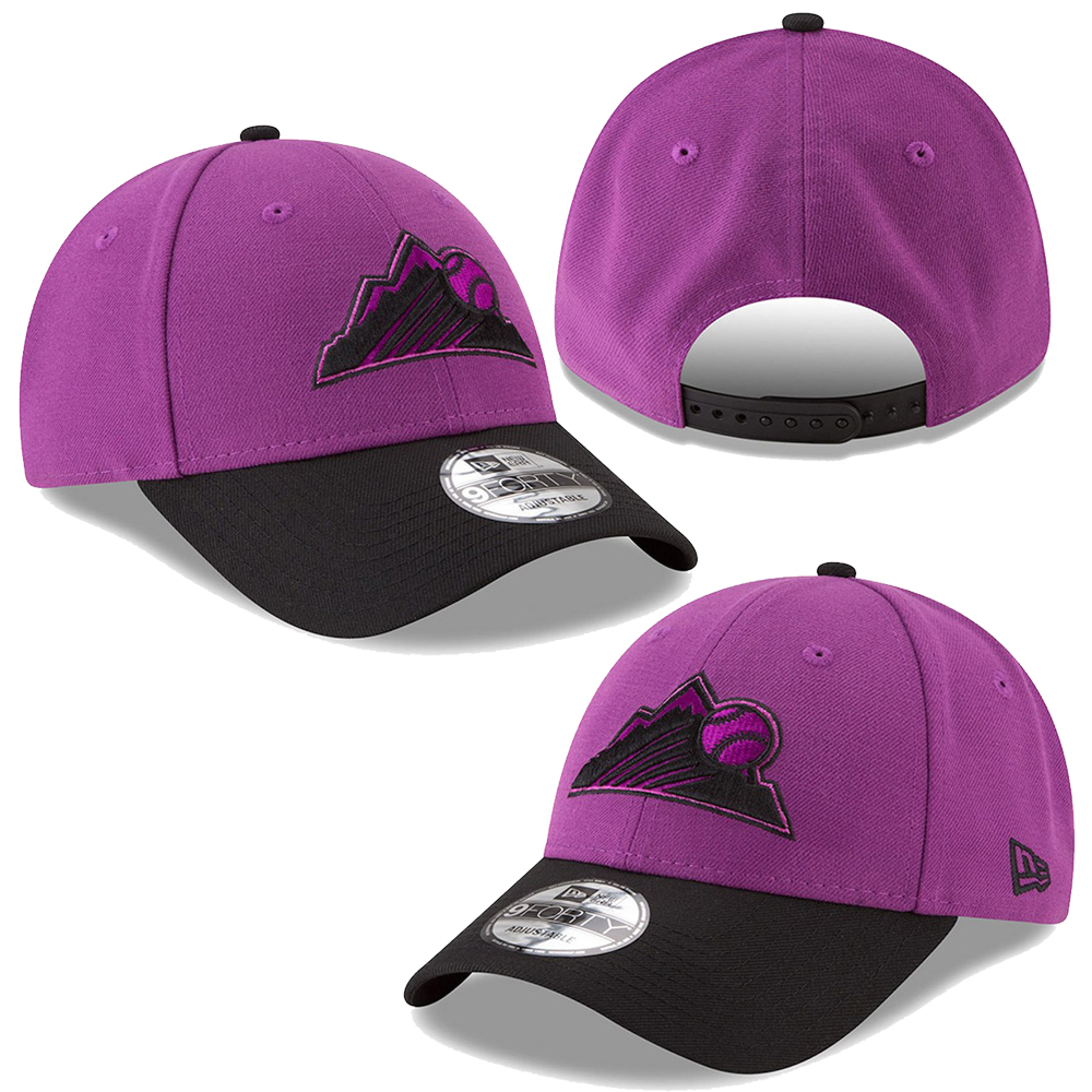 6eaa0642cd9 New Era MLB Colorado Rockies Players Weekend 9Forty