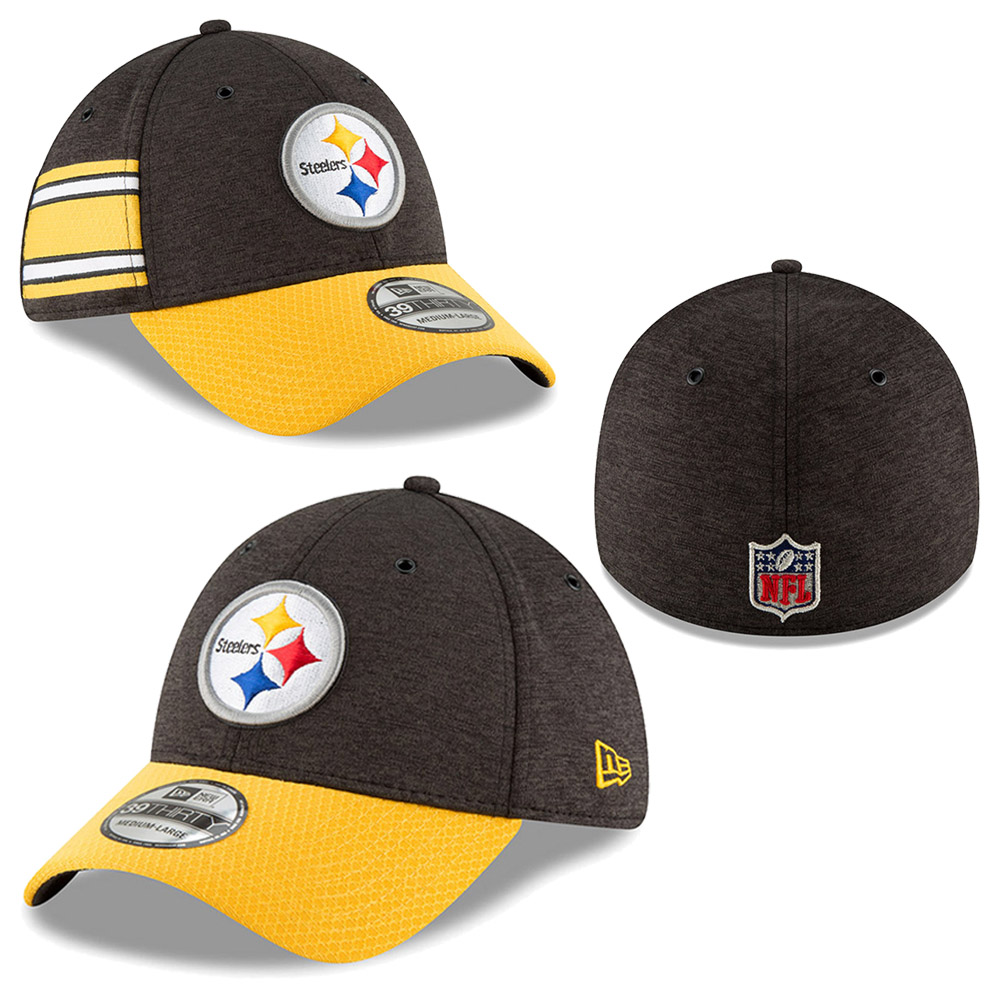 New Era - NFL Pittsburgh Steelers Sideline Home 2018 39Thirty 86a71165a