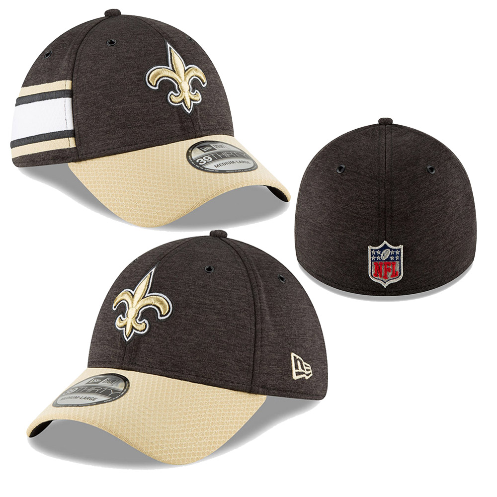 219ac303b85 New Era NFL New Orleans Saints Sideline Home 2018 39tHIRTY