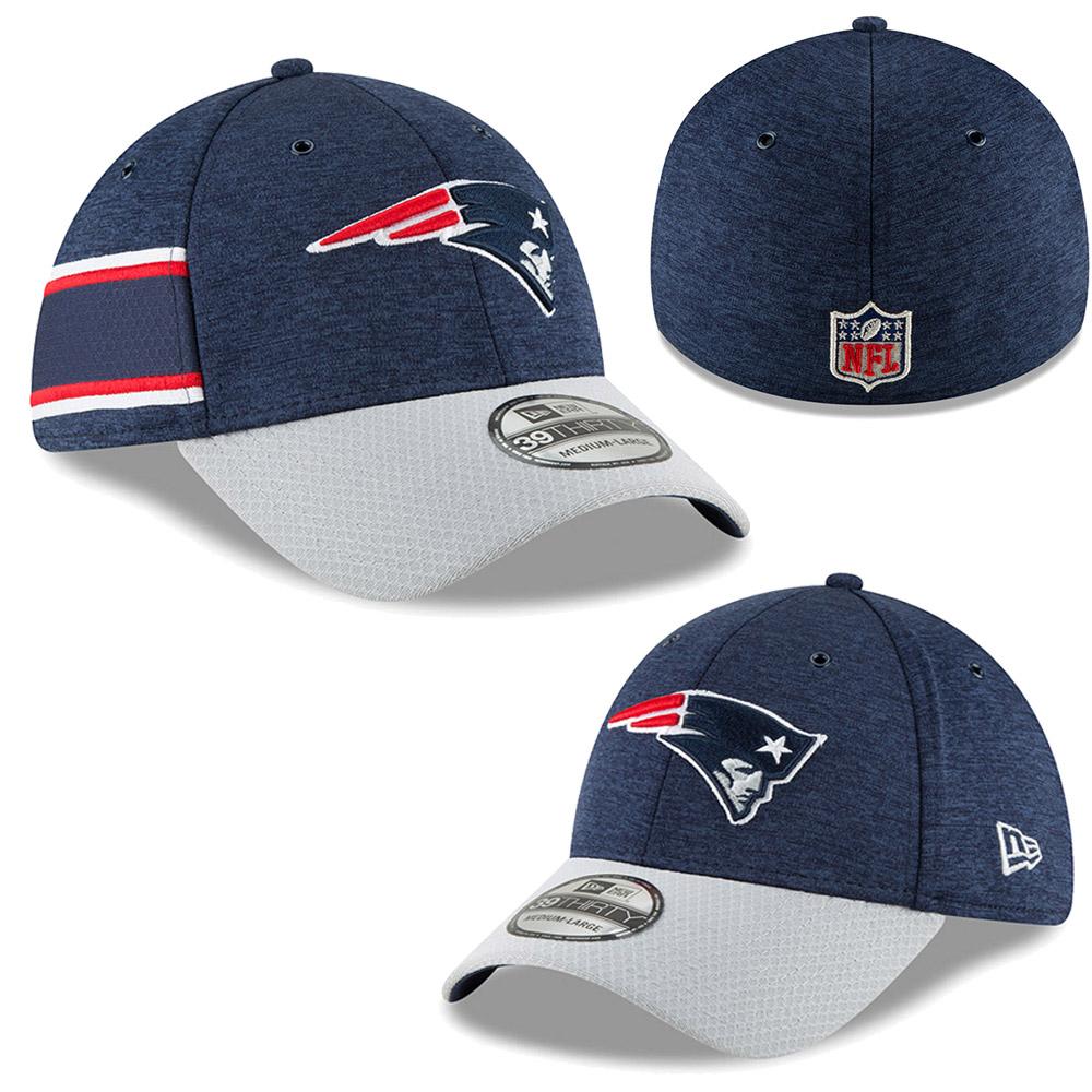 9a14297b7fb New Era - NFL New England Patriots Sideline Home 2018 39Thirty