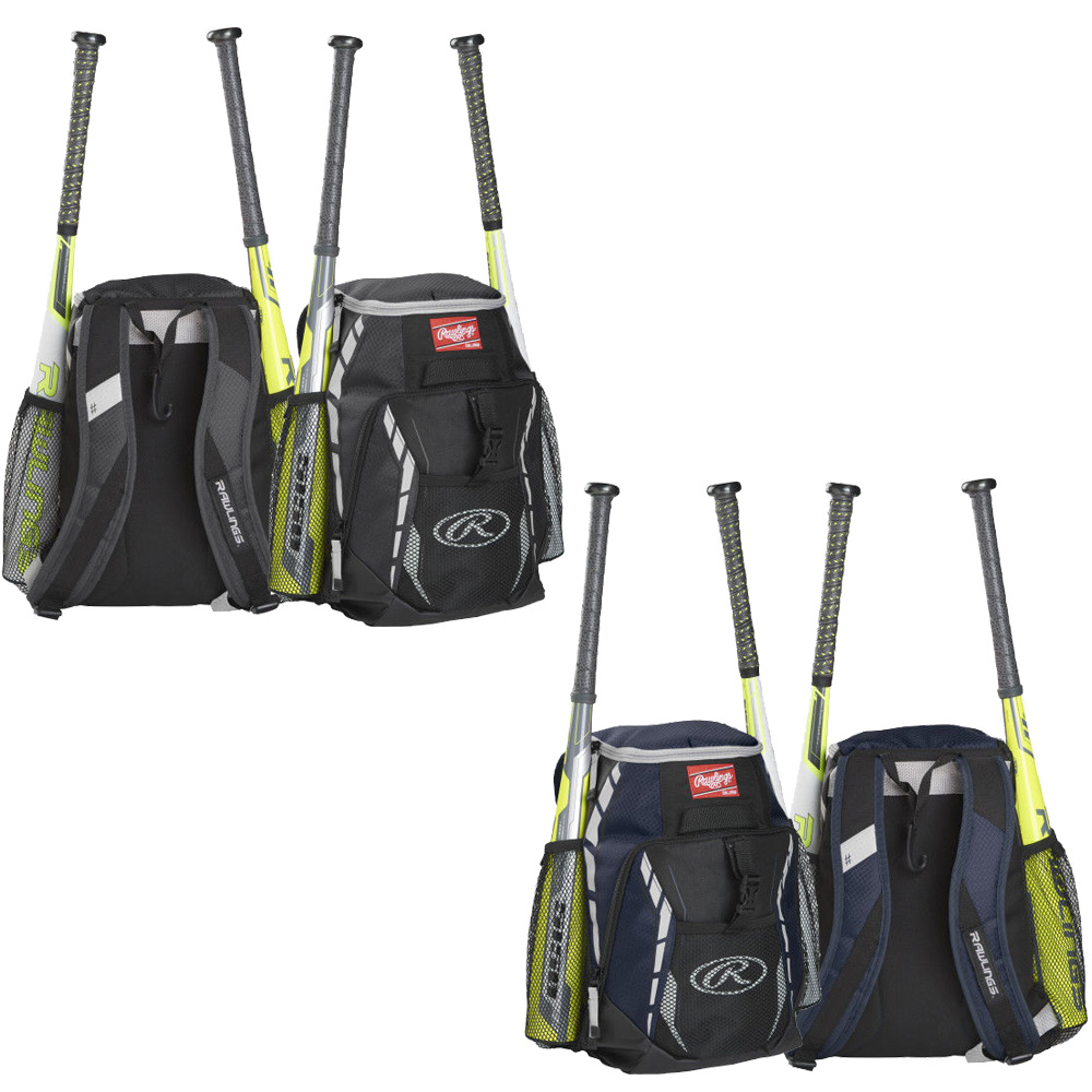 Rawlings R400 Youth Players Team Backpack Bag