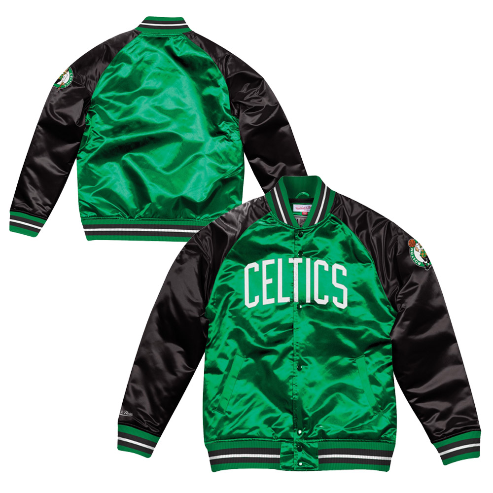 Mitchell & Ness NBA Boston Celtics Tough Season Satin Jacket