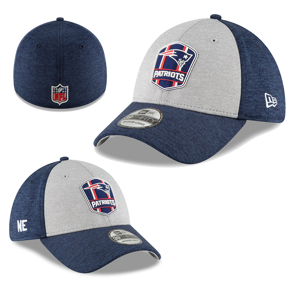 38fcdc3e3fc6d5 Wear the colors of your team proudly with this NFL New England Patriots  Sideline Road 2018 39Thirty worn at competitions on the opponent's field.