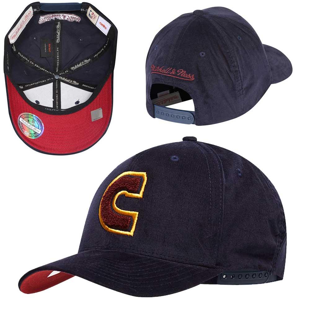 de1bb4e193168 Mitchell & Ness - NBA Cleveland Cavaliers Campus Snapback Adjustable
