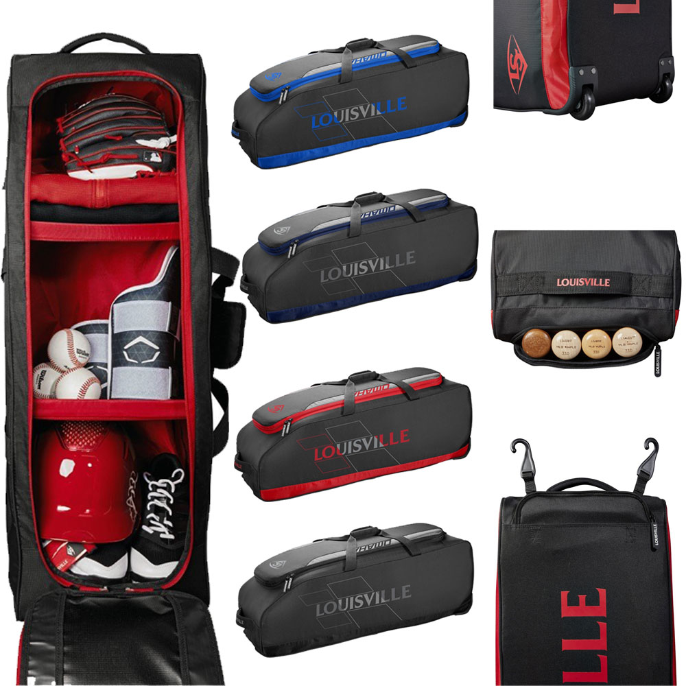 Louisville Slugger Omaha Rig Wheeled Player Bag: WTL9505
