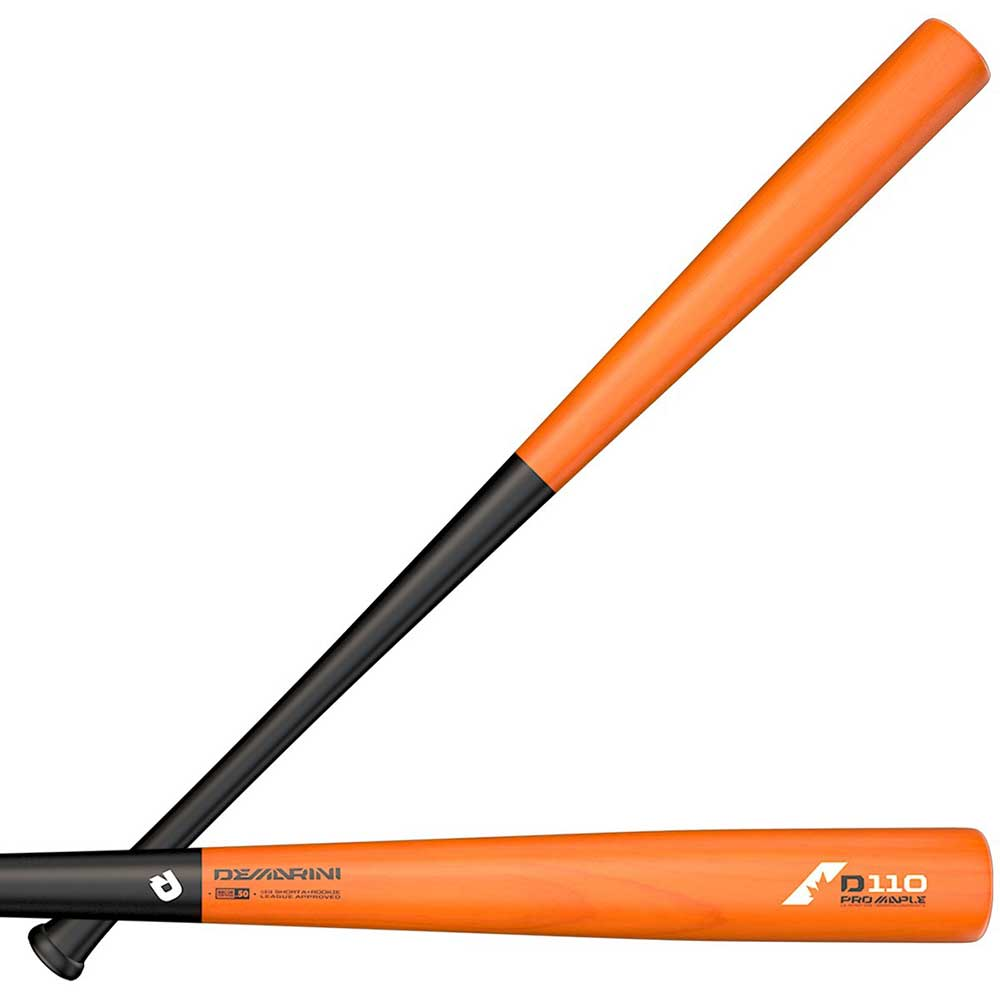 DeMarini 2018 D110 Pro Maple Wood Composite Baseball Bat