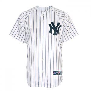 Majestic MLB New York Yankees Home Replica Jersey White/Navy