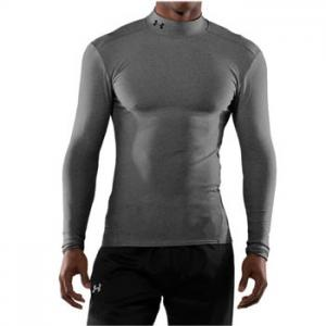 Under Armour ColdGear® Longsleeve Compression Mock  Gris