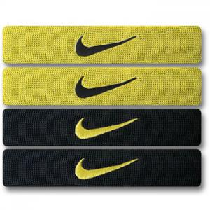 Nike Home & Away Dri-Fit Bands Neon/Balck
