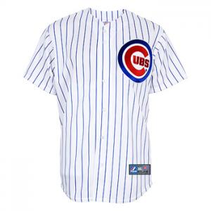 Majestic MLB Chicago Cubs Home Replica Jersey