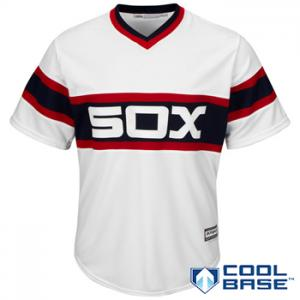 Majestic MLB Chicago White Sox 2015 Cool Base Alternate Home (retro)