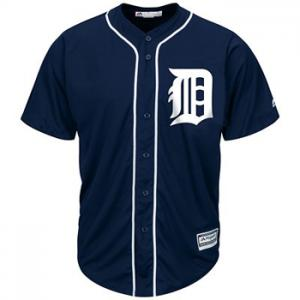 Majestic MLB Detroit Tigers 2015 Cool Base® Primary Color Jersey