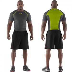 Under Armour HeatGear® Dynasty Vented Compression Short Sleeve