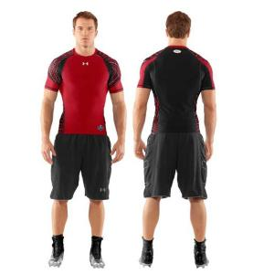 Under Armour Maillot de Compression Football Américain Warp Speed