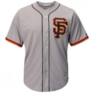 Majestic MLB San Francisco Giants Cool Base road Jersey