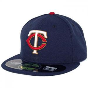 New Era MLB Minnesota Twins Alternate  Authentic On Field (Navy/Red)  59FIFTY