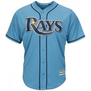 Majestic MLB Tampa Bay Rays Cool Base® Alternate Jersey