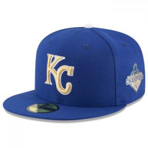 New Era MLB Kansas City Royals Royal Authentic On Field Opening Day 59FIFTY Fitted Hat