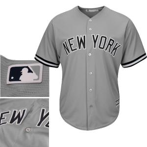 Majestic MLB New York Yankees Cool Base Road Jersey