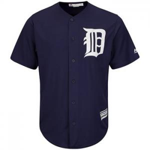 Majestic MLB Detroit Tigers Cool Base® Alternate navy Jersey