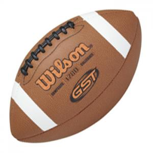 Wilson GST WTF1780XB Ballon de Football Américain Composite Officiel