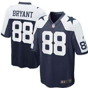 Nike NFL Dallas Cowboys Dez Bryant  Throwback Game Jersey - Navy Blue