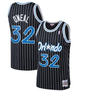 Mitchell & Ness NBA Orlando Magic Shaquille O'Neal Black 1994-95 Hardwood Classics Swingman Jersey