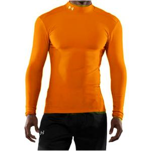 Under Armour Under Armour 	ColdGear® Longsleeve Compression Mock Gold