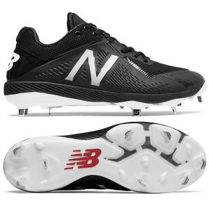 New Balance Low-Cut 4040v4 Metal Cleat Black