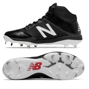 New Balance Mid-cut 4040v4 metal cleats Black