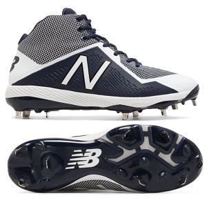 New Balance Mid-Cut 4040v4 metal cleats Navy