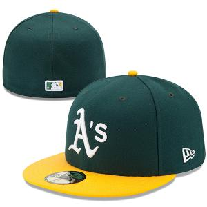 New Era MLB Athletics Authentic On Field Home 59FIFTY