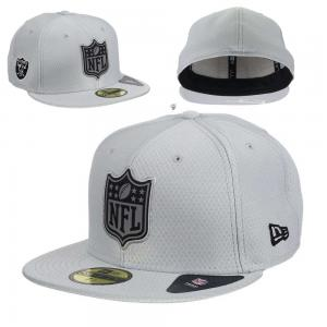 New Era NFL Oakland raiders League Logo Gray 59fifty